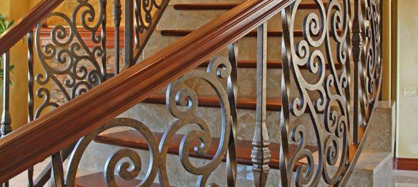 Ers Guide To Wrought Iron Or Gl Staircase Railings First Impression Ironworks