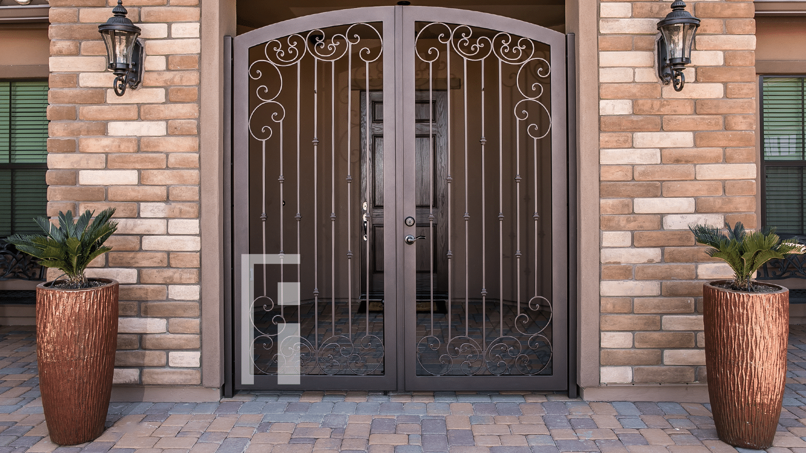 Gallery Iron Security Door Gate Designs First Impression Ironworks