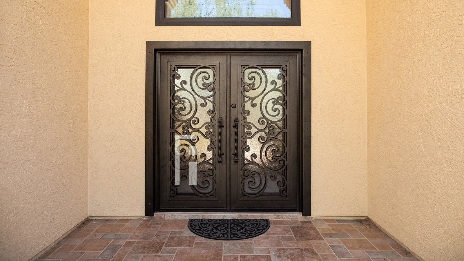 Tuscan Iron Entry Door First Impression Ironworks