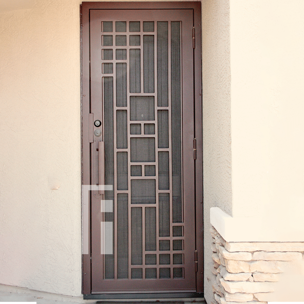 Copper Triple Plate Iron Security Door First Impression