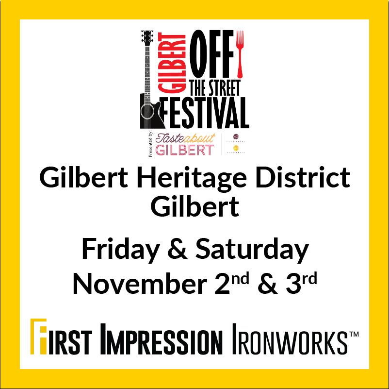Gilbert Off The Street Festival
