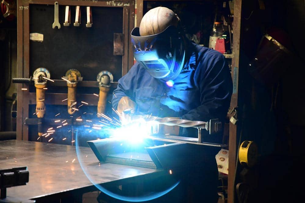 First Impression Ironworks Welder