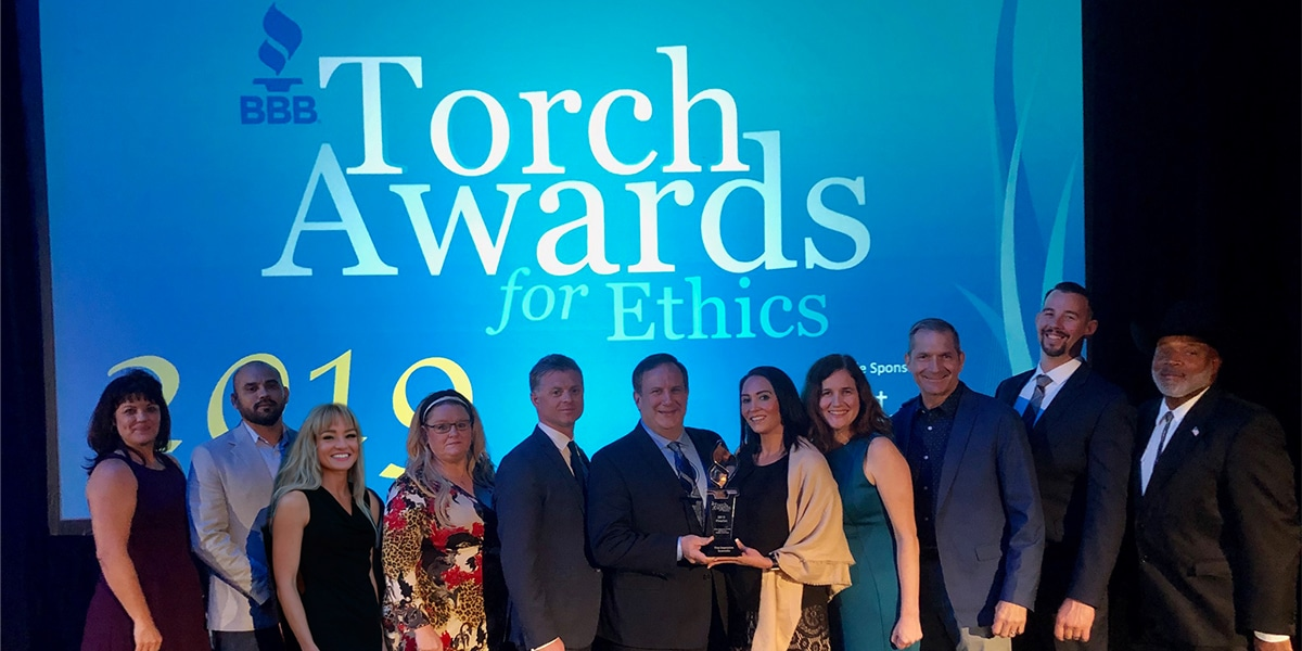 BBB Torch Awards Group Photo