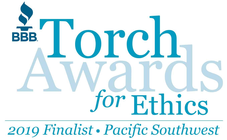 BBB Torch Awards Finalist Logo
