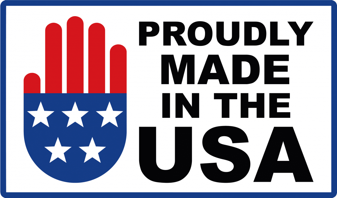 Logo Saying - Proudly Made In The USA