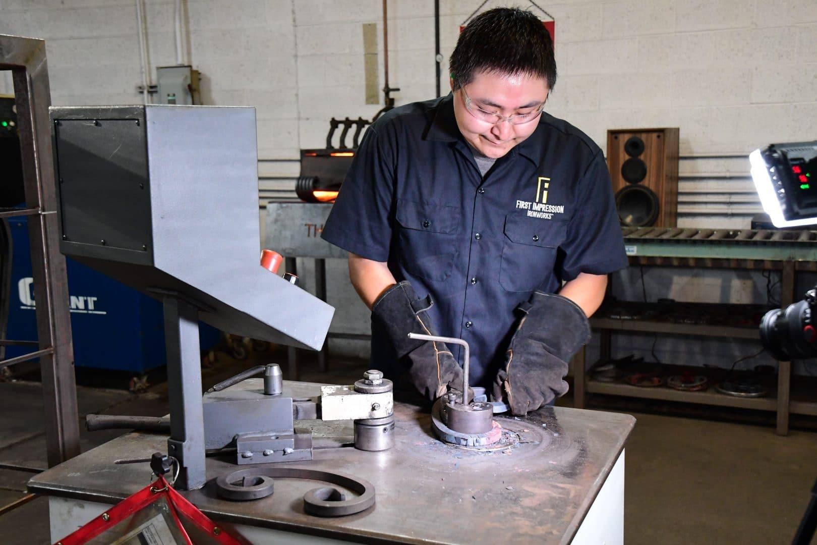 First Impression Ironworks Iron Worker
