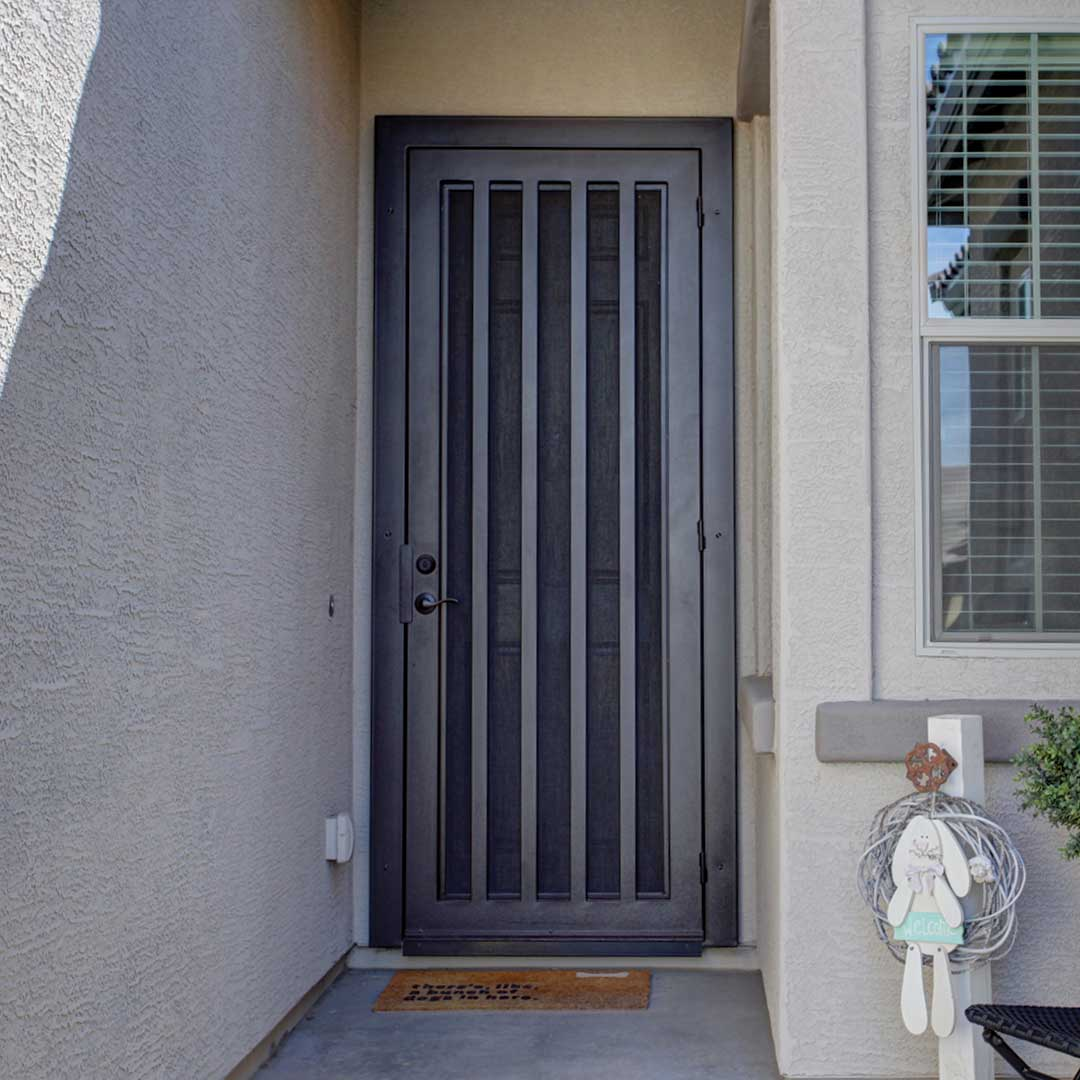 First Impression Ironworks Iron Security Door