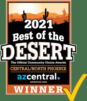 Best of the Desert Logo - Central/North Phoenix
