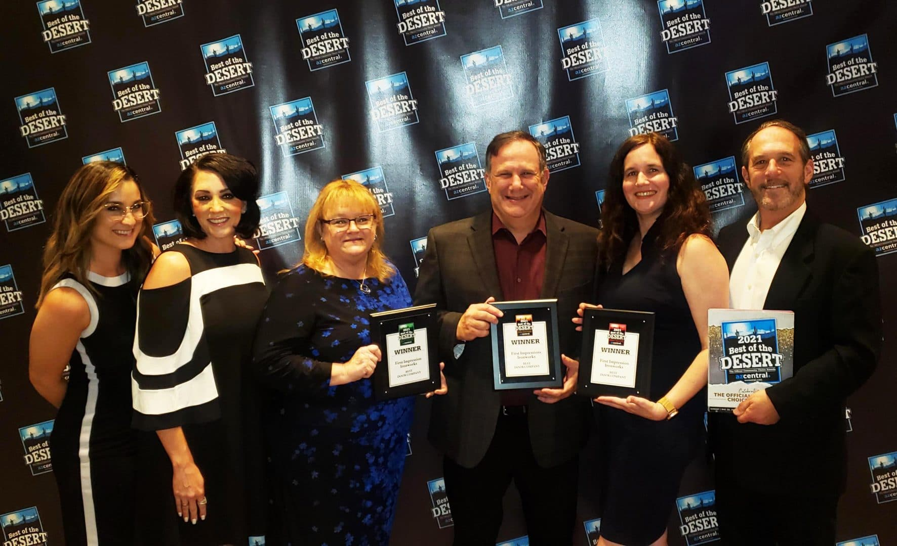 First Impression Ironworks Wins Best of the Desert.