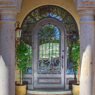 Beautiful First Impression Door