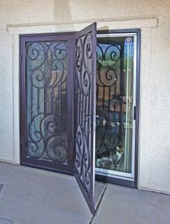 Arcadia Security Door