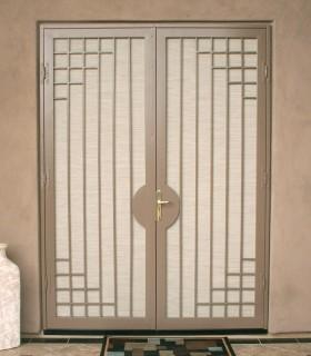 French Security Door